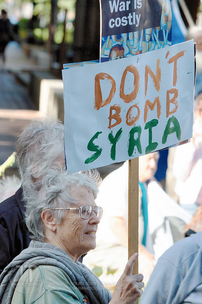PC- Anti-War Protest, September 21, 2014