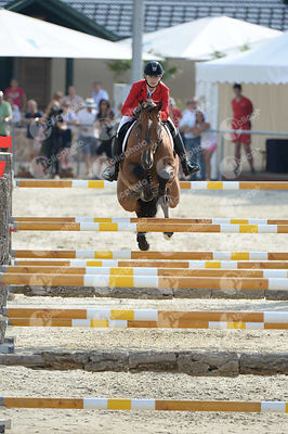 RIPKE Theresa, (GER), CALMADO during  competition at European Jumping Championship for Children, Juniors, Young riders at Lak...
