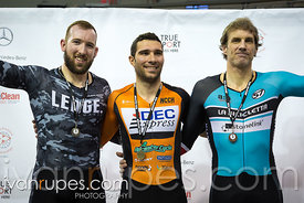 Men Keirin Podium, 2017/2018 Track Ontario Cup #1, Mattamy National Cycling Centre, Milton On, December 10, 2017