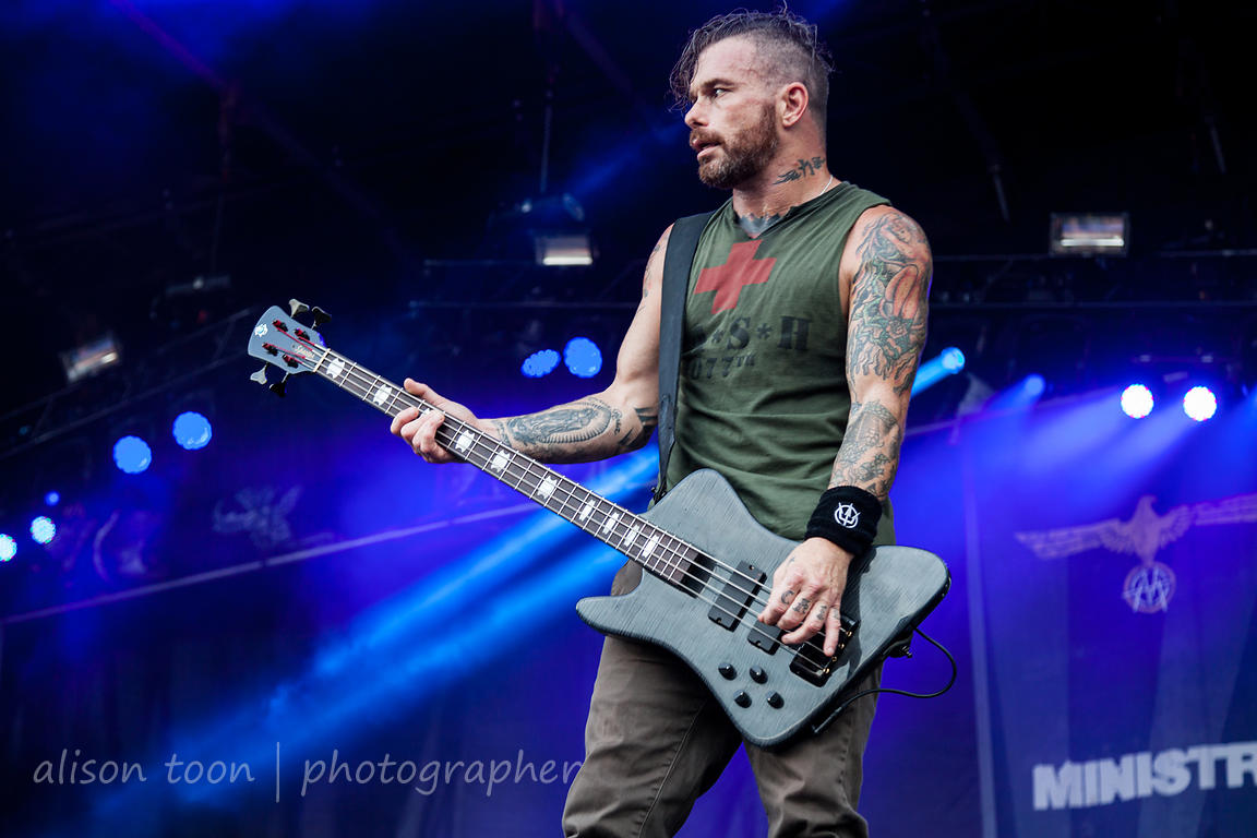 Jason Christophe, bass, Ministry