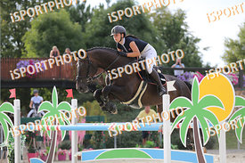 KREISLOVA Natalie (CZE) and BALINA 5 during LAKE ARENA - The Summer Circuit II, CSI2*, GOOD BYE COMP, 140 cm, 2017 August 27 ...
