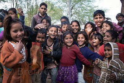 The awesome spirit of Rajastjan in one photo, children in the very small and remote (not on any maps or in any official recor...