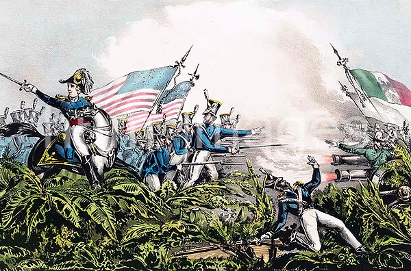 General Zachary Taylor at the battle of Palo Alto May 8th 1846
