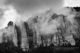 Clouds and Cliffs | San Juan Mountains, CO