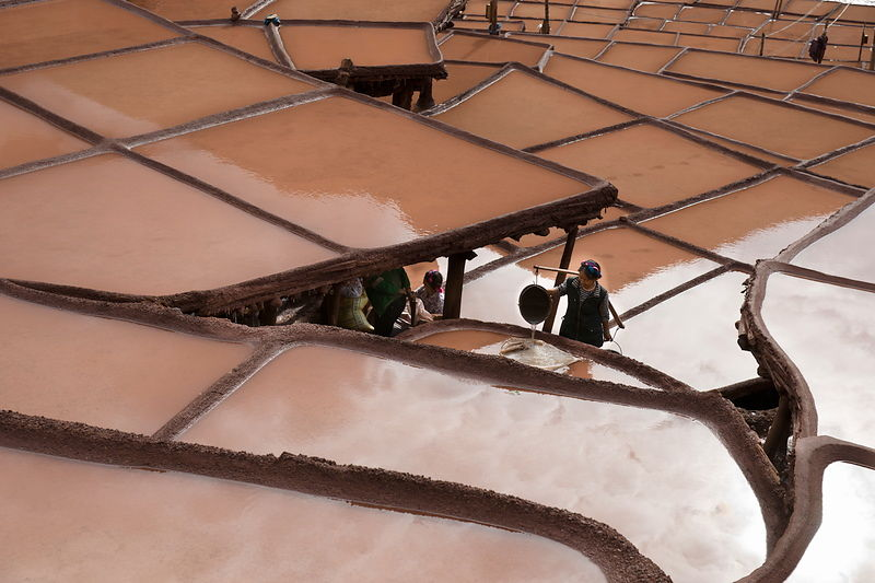 Salt wells on Mekong