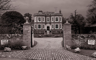 Country House protest | Little Missenden Buckinghamshire | January 2012