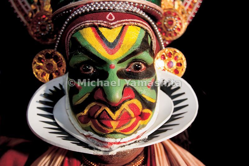 Kathakali (literally' story performance') is Kerala's most colorful performance art, which many believe was inspired by Chine...