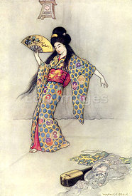 The Golden Comb by Warwick Goble