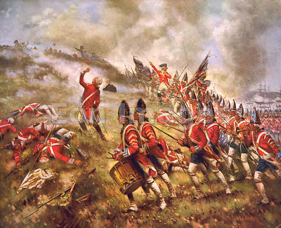 Battle of Bunker Hill by Moran