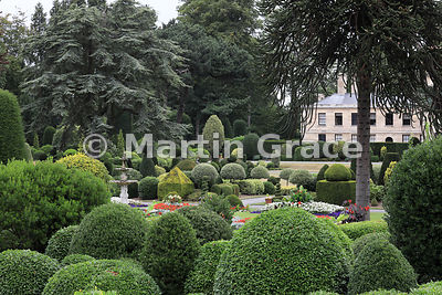 Exquisite topiary of all shapes and sizes in Brodsworth Hall gardens, Brodsworth, Doncaster, South Yorkshire, England, August 17