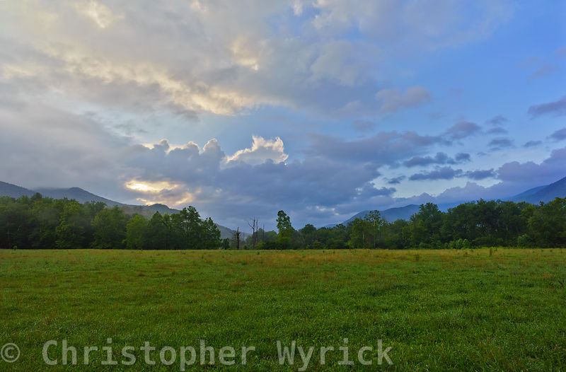 The fields of Cades Cove offer a glimpse back in time to how the area may have appeared one hundred or even two hundred years...