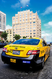 Taxi Californien San Francisco Californie USA 10/12