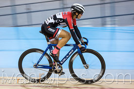 Women Omnium Points Race. Canadian Track Ch ampionships, Mattamy National Cycling Centre, Milton, On, September 26, 2016