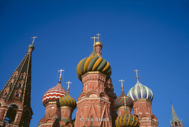 St. Basil, Red Square Moscow, Russia