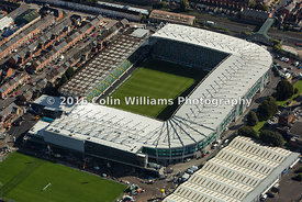 Aerial photograph - The National Stadium, Windsor Park