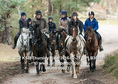 2016-02-21 KSB Thursley Ride