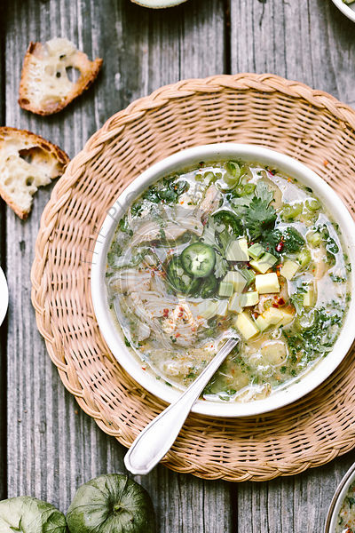 Chicken Tomatillo Soup