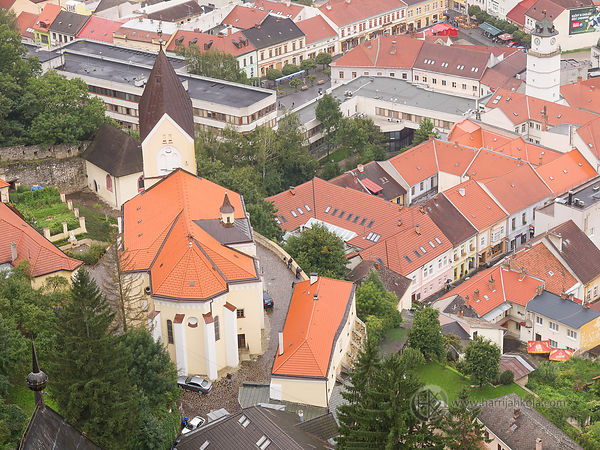 Slovakia - Trencin (Parish Church Of The Virgin Mary)