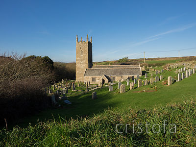 St Levan's Church in west Cornwall