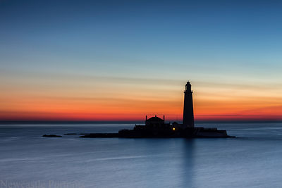St. Mary's Lighthouse Sunrise