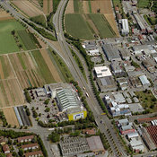 Industrial area, Fellbach