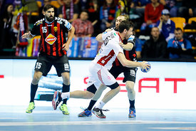 Jorge Maqueda during the Final Tournament - Final Four - SEHA - Gazprom league, Gold Medal Match Vardar - Telekom Veszprém, B...