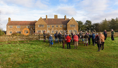 The Belvoir Hunt at Waltham House 23/12