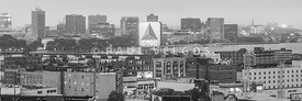 Panoramic Boston Skyline Aerial Photo