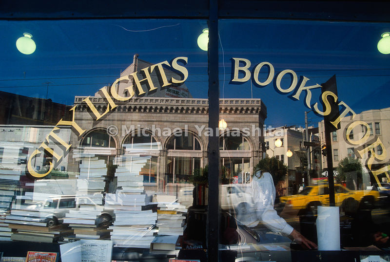 City Lights Bookstore, North Beach.San Francisco, California