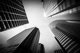 Chicago Black and White Architecture