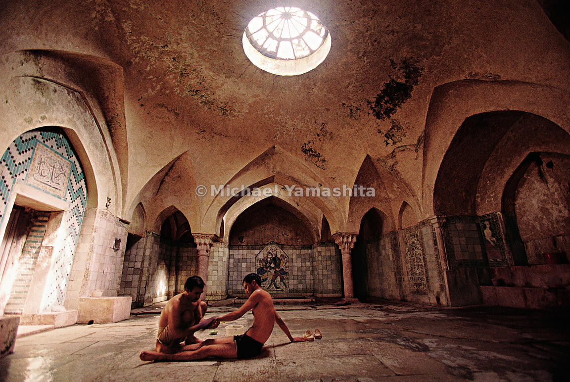 One of Kerman's oldest hammams, (Turkish baths) still in use today.