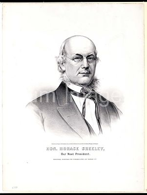 Hon. Horace Greeley our next president