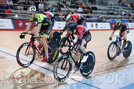 Junior Men Keirin 1/2 Final. Canadian Track Championships (U17/Junior), April 3, 2016
