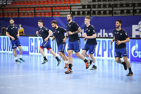 Team PPD Zagreb training during the Final Tournament - Final Four - SEHA - Gazprom league, Skopje, 12.04.2018, Mandatory Cred...