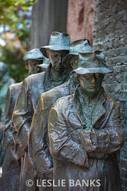 The Breadline in the FDR Memorial