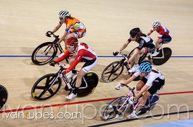 Women's omnium scratch race. Milton International Challenge, January 10, 2015