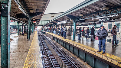 Myrtle Avenue subway station, Brooklyn, NY