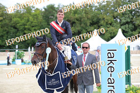 OPPERMANN Jörg (GER) and AMELIE 108 during LAKE ARENA - Equestrian Summer Circuit I, CSI2* - Grand Prix -145cm, 2018. 07. 08....