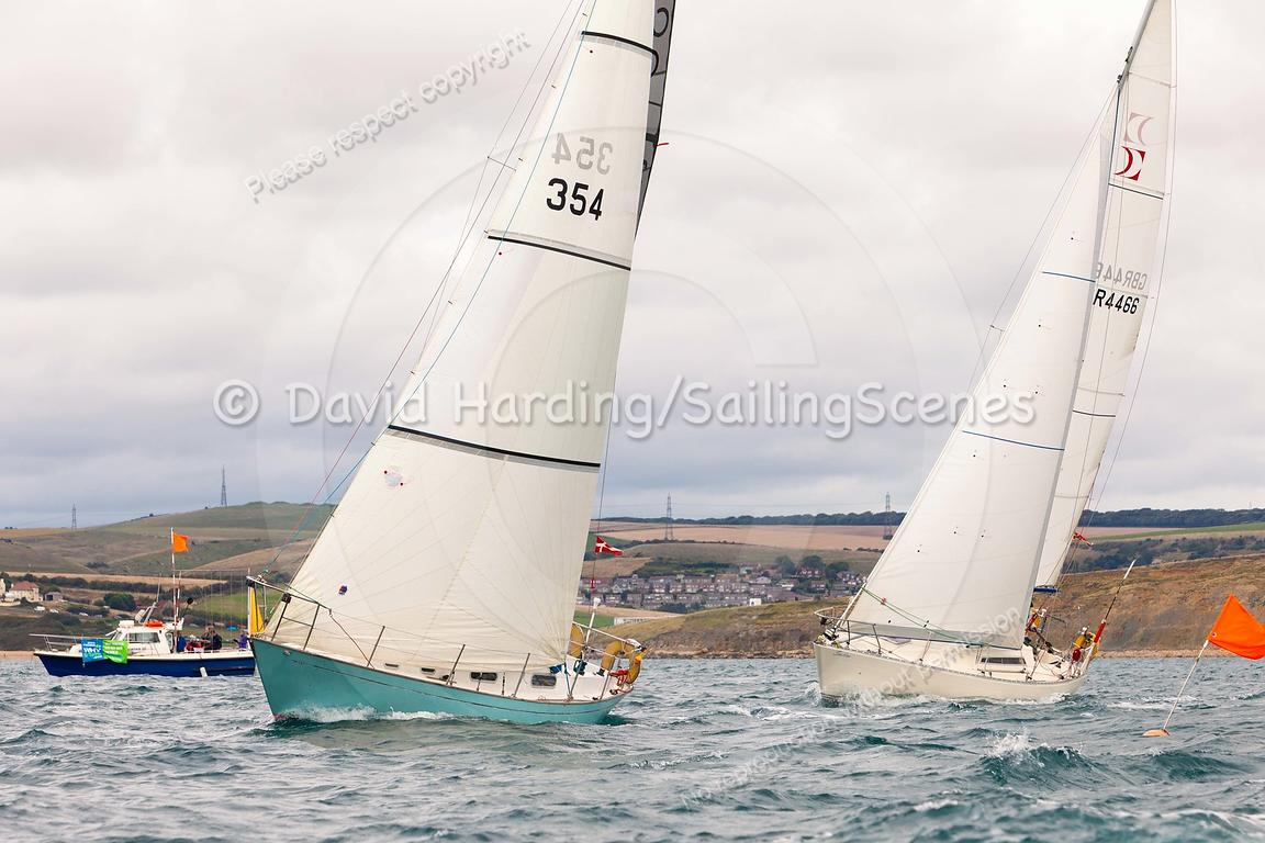 Moonshadow II, 354, Contessa 32, Weymouth Regatta 2018, 20180908898.