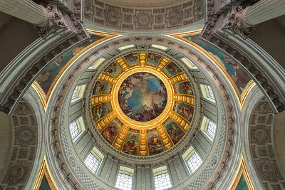 Les Invalides, Dome, March 2018