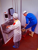 Hygiene in food processing industry