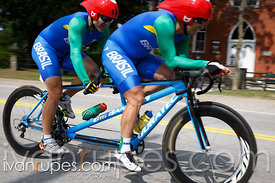 Mixed Time Trial B, Toronto 2015 Parapan Am Games, Milton, On; August 13, 2015