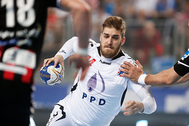 Domagoj PAVLOVIĆ of PPD Zagreb during the Final Tournament - Final Four - SEHA - Gazprom league, semi finals match, Varazdin,...