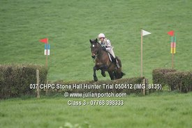 Class 3 - Stone Hall Hunter Trial 2012
