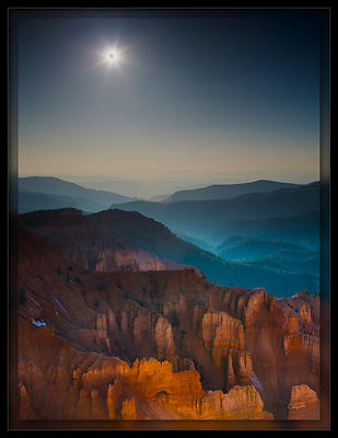 Eclipse Over Cedar Breaks