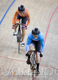 Women Sprint 1-2 Final. Milton International Challenge, Mattamy National Cycling Centre, Milton, On, September 30, 2016