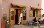 Street café, Saint-Louis, Senegal