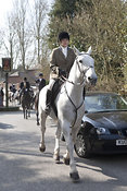 Royal Artillery Hunt, East Chisenbury 24 March 2012