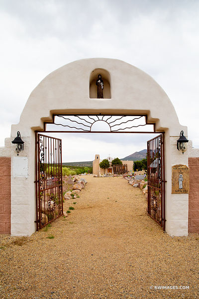 TURQUOISE TRAIL SAN FRANCISCO DE ASIS CHURCH GOLDEN NEW MEXICO COLOR