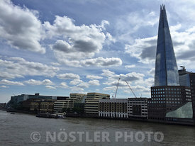 The river Thames and the Shard